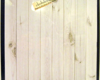 White Wash ..Magnet Dry Erase  Memo Board / Housewarming Gift / Office Decor / Organization / Desk / Coworker / Message Board / Wall Decor