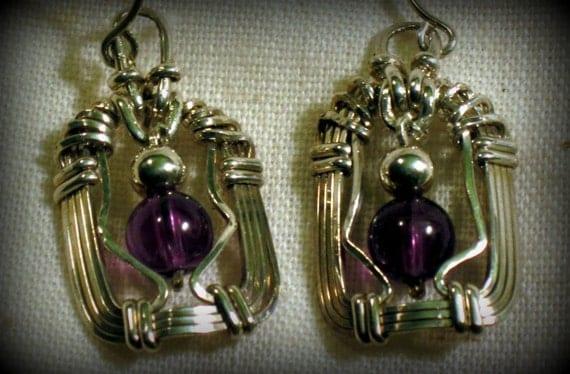 DoLoBo Jewelry  Sterling Amethyst Earrings