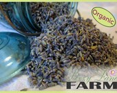 Super Blue Lavender-1 Pound (1lb.) Dried Lavender|Culinary, Food Grade Lavender Buds|Cooking Lavender| Organic Lavender| Lavender Tea
