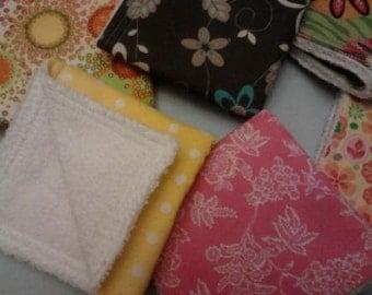 Baby Washcloths  Toddler Washcloths  Set of 6