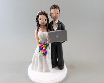Wedding Cake Topper Custom Handmade