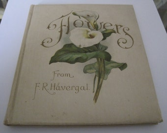 Antique Book Flowers From F. R. Havergal