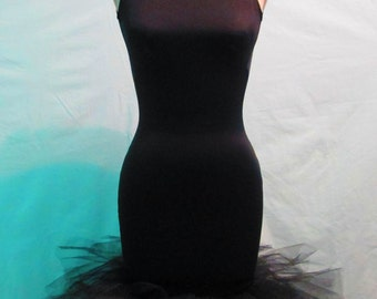 Backless Tulle Dress
