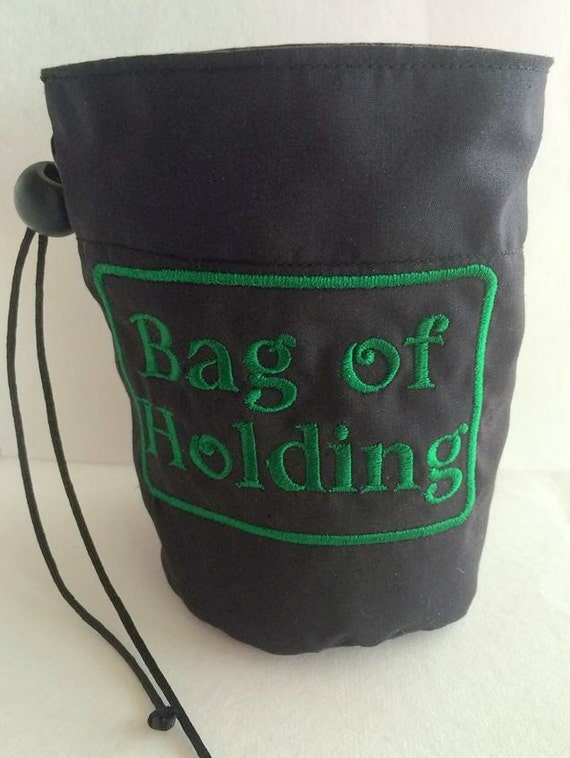 bag of holding dice bag dice holder d d by dicebagchick on