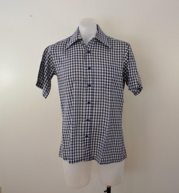 vintage boston store 1960 s mens sleeve shirt
