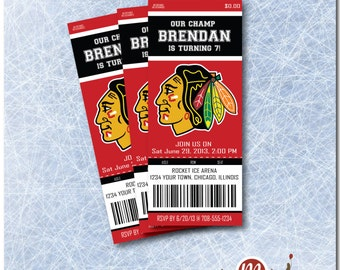 INVITATION: Blackhawks Ticket