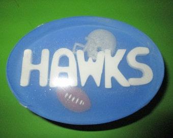 Football Team soap, Hawks, Ducks, etc