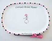 Ceramic Signature Plate for BRIDAL SHOWER