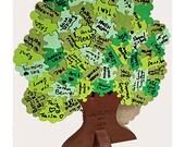 Tree 3D Puzzle - Wedding Guest Book Puzzle - Unique Wedding Guest Book Alternative