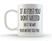 Unique Coffee Mug, Tea Mug, Coffee Cup, Ceramic 11oz, Qoute, Saying, Typography, Gift, Boss, Employee, Personalized, Custom, artstudio54