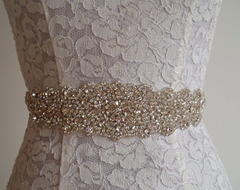 Wedding Sash Crystal Bridal Belt Wedding Dress Belt rhinestone sashes belts crystal