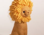 RESERVED for Shira,  Felted Wool Lion , the second payment, 3rd june
