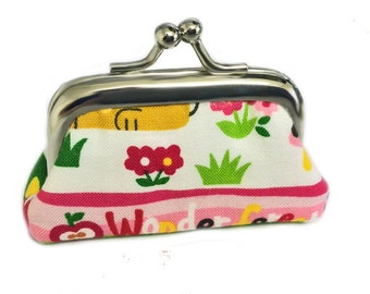 Wonder Forest - Tiny Metal Frame Coin Purse