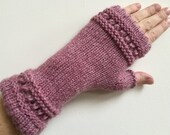 Pink French Handwarmers