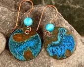 Bohemian Jewelry, Organic Earrings, Artisan Jewelry