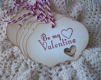 Valentine Treat Tags-Bakery Tag,Party Favor Tag,School Party