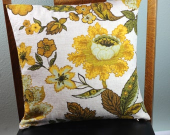 Flowered Occasional Pillow