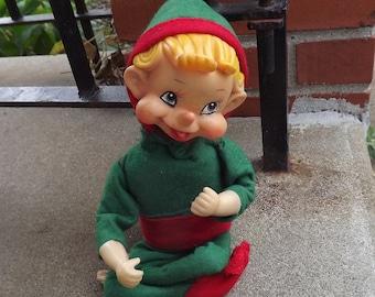 circa 1960 musical dancing Christmas elf - charity for animals