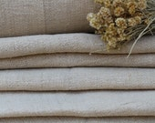 Nr 136 antique hemp pale CREAMY upholstery ECOFRIENDLY Twill fabric rural upholstery fabric 12.56yards by 20.57  inches