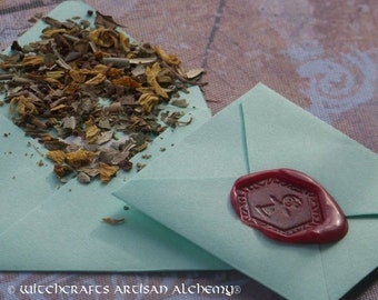 FERTILITY Spirit of Magic™ Herb Loaded Envelope Spell by Witchcrafts Artisan Alchemy®