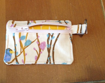 Birds and Willow Coin Pouch