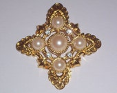 Vintage Brooch by Kenneth J. Lane for Avon