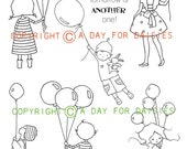 All About Balloons Clear Polymer Stamp Collection