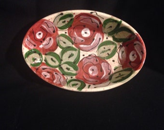 Country Rose soap dish