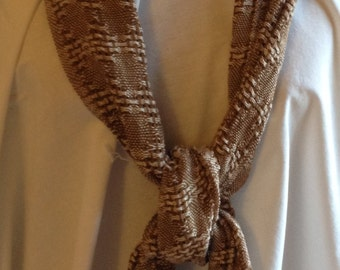 Brown & Beige  Bamboo Scarf