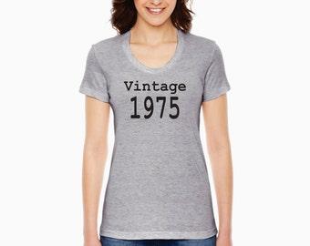 Vintage 1975 American Apparel ladies shirt
