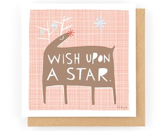 Wish Upon A Star - Greeting Card (1-35C)