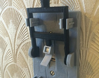 3D Printed Frankenstein Light Switch Plate