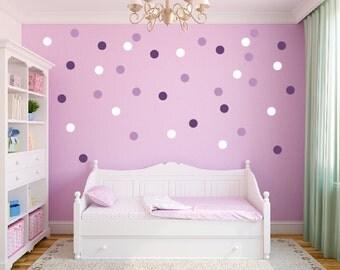 Polka Dot Wall Decal   Etsy Part 53