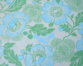 Amy Butler Green, Midwest Modern Rowan Cotton Fabric - 3/4yd x 44in wide - NEW