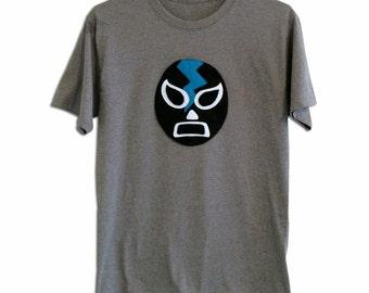 Luchador Negro - Black Mexican Wrestler Men's T-Shirt