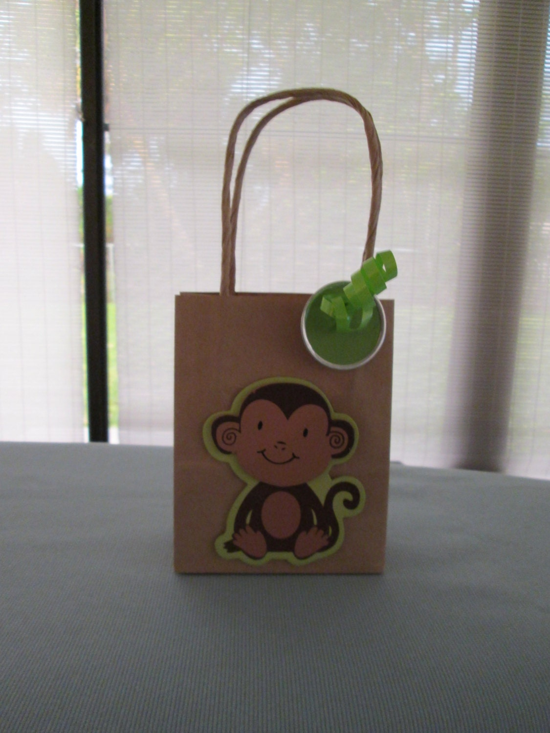 monkey favor bags baby shower favor bags birtday party favor
