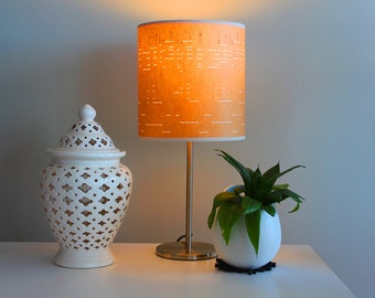 Vintage Pianola Roll Lamp Shade