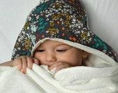 Bamboo Hooded Baby Towel: indelible