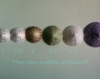 Custom Crystal Burlesque Pasties Choose from 29 Colors and 11 Sizes made to order