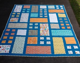 Cars Quilt-Teal Borders