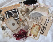 Antique Inspiration Kit for Craft, Scrap Book or Mixed Media Projects (lot 16)