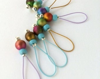 Knitting Stitch Markers  snag free- FAIRY TEARS