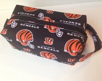 SALE Kids Toiletry Bag, Toiletry, Travel Bag - Bengals Football Fan