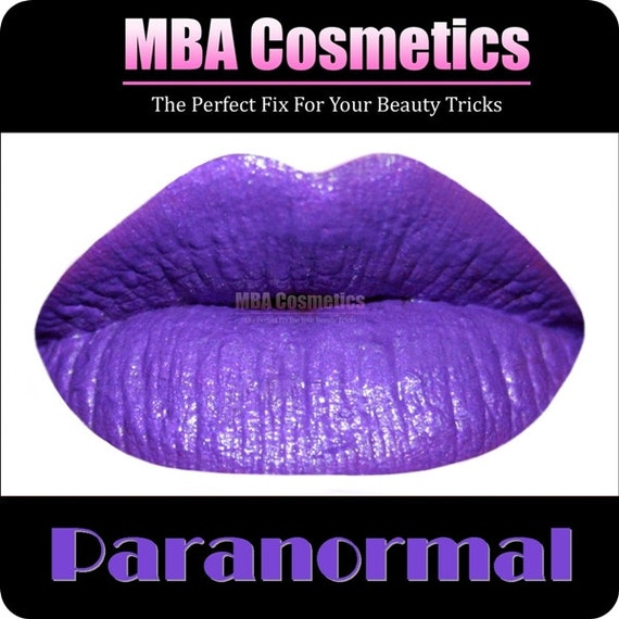 Purple Lipstick- Paranormal