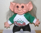 SCANDIA HOUSE Troll 11 inch with Cloth Body