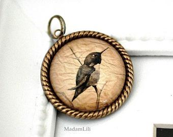 Fly to happiness II - Vintage Pendant