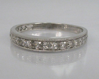 Diamond Anniversary Band - 0.42 Carats - Appraisal Included