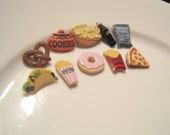 Earrings Mix and Match Collection Snack Food Choose Your Quantity of Sets and Styles