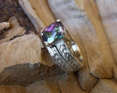 Wedding Set - Mystic Topaz Sterling Silver  RF635