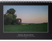 Rural Ruins Fine Art Photography 2015 Wall Calendar
